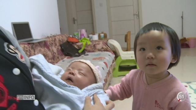 Baby Boom: la Chine tente de relancer sa croissance [RTS]