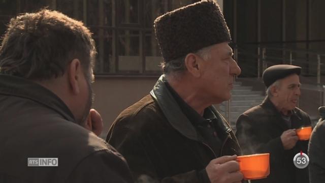 Crimée: les opposants à l'annexion sont traqués [RTS]