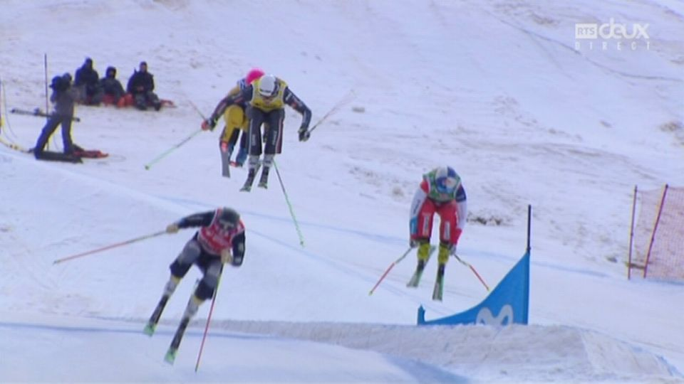 Skicross, finale: Fanny Smith (SUI) en argent [RTS]