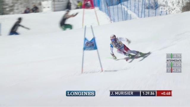 Aspen (USA), géant 2e manche:  Justin Murisier (SUI) [RTS]