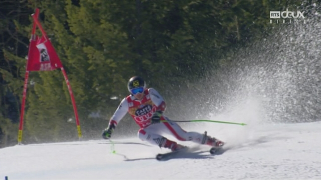Aspen (USA), géant 2e manche:  victoire de Marcel Hirscher (AUT) [RTS]