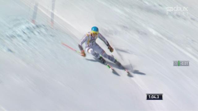 Aspen (USA), géant 2e manche:  Felix Neureuther (GER) 2e [RTS]