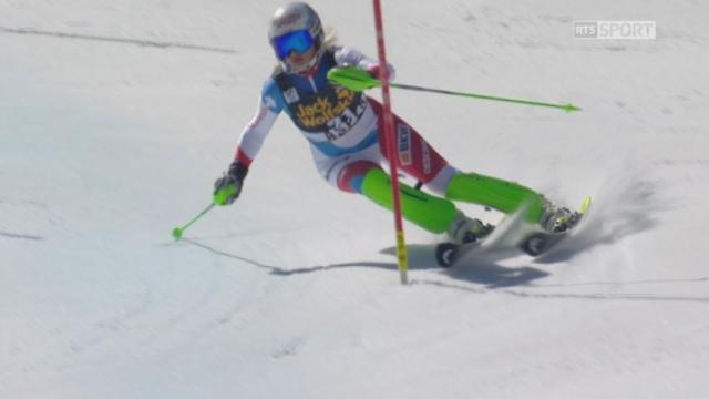 Aspen (USA), slalom 2e manche:  Denise Feierabend (SUI) [RTS]