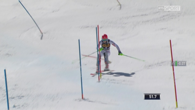 Aspen (USA), slalom 2e manche: Petra Vlhova (CZE) s'impose avec 24 centièmes d'avance [RTS]