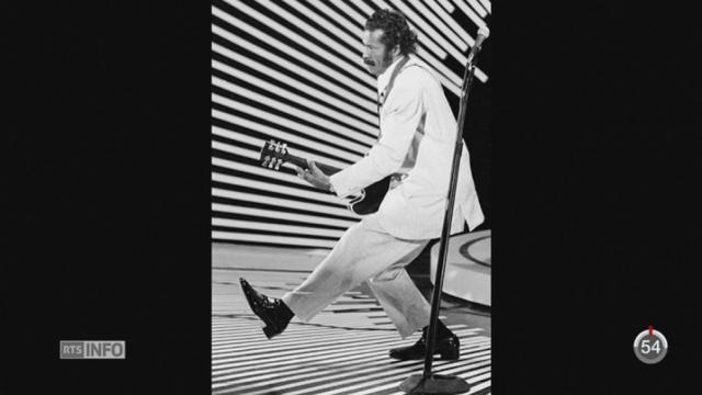 Chuck Berry est décédé à l'âge de 90ans [RTS]