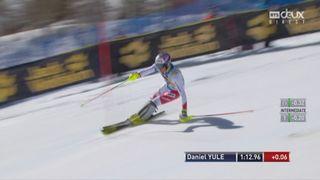 Aspen (USA), Slalom 2e manche: Daniel Yule (SUI) [RTS]
