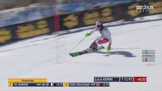 Aspen (USA), Slalom 2e manche: Luca Aerni (SUI) [RTS]