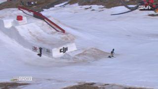 Ski - Mondiaux de Freestyle: les Suisses finissent au pied du podium lors du slopestyle [RTS]