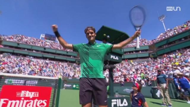 Tennis - Indian Wells: la finale opposera Federer à Wawrinka [RTS]