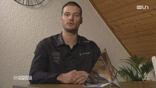 Ski - Mondiaux de Freestyle: interview de Romain Détraz, équipe de Suisse de skicross [RTS]