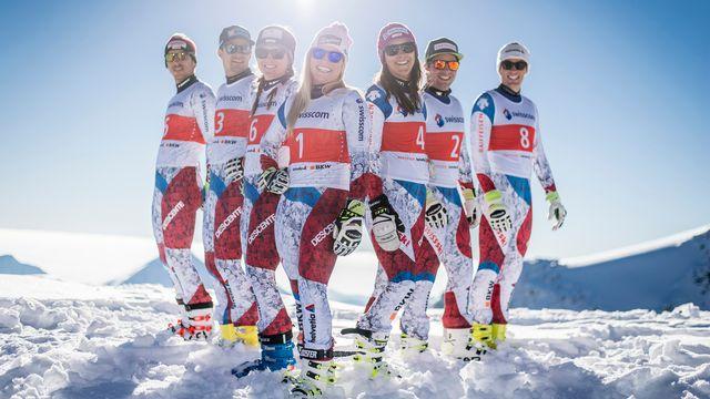 Les Suisses ont brillé lors des Mondiaux à St-Moritz. [O.Maire - Keystone]