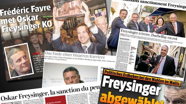 Les résultats du 2e tour des élections cantonales valaisannes ont été largement commentés dans la presse suisse.