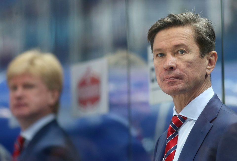 La dernière expérience de Bykov derrière un banc remonte à son mandat au SKA St-Pétersbourg en 2014-15. [Igor Kralj - EQ]
