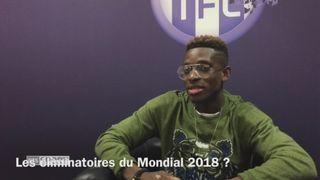 Foot : François Moubandje et l'équipe de Suisse -1 [RTS]
