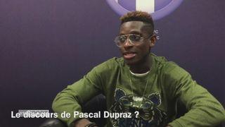 Foot : François Moubandje à propos du Toulouse FC [RTS]