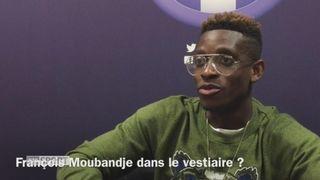 Foot : François Moubandje et l'équipe de Suisse -2 [RTS]