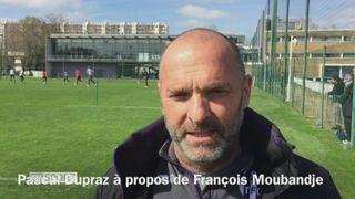 Foot : Pascal Dupraz à propos de François Moubandje [RTS]
