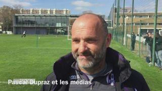 Foot : Pascal Dupraz et la langue de bois [RTS]