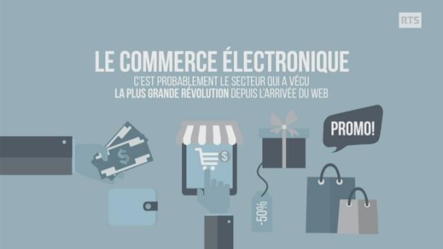 Les gagnants et les perdants du commerce électronique [RTS]