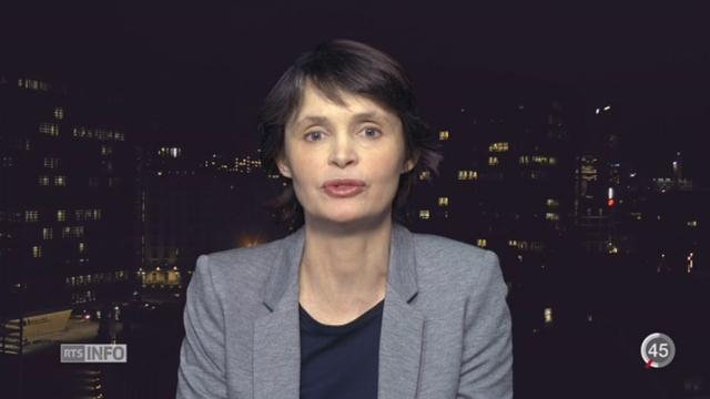 Le regard d'Isabelle Ory sur le passé et le futur de l'UE [RTS]