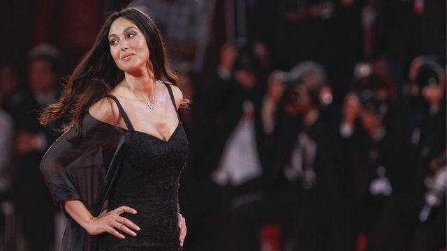 L'actrice italienne Monica Bellucci était très attendue à cette 68e Mostra de Venise. [Andrew Medichini / Keystone]