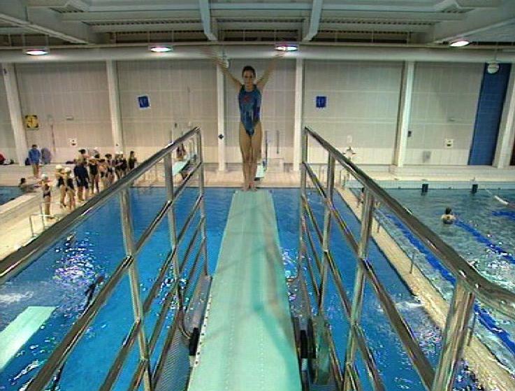 Un rêve bleu piscine