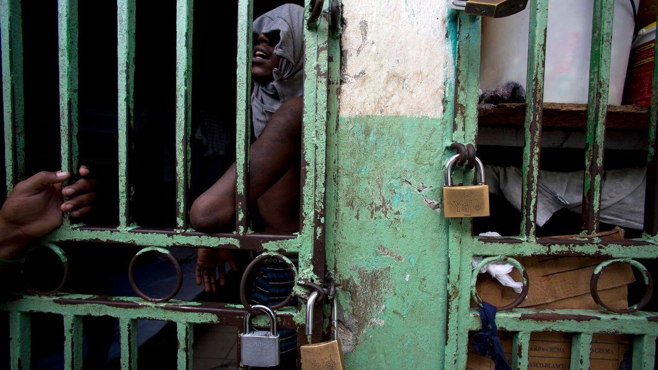 La prison de Port-au-Prince, à Haïti. [Dieu Nalio Chery - AP/Keystone]