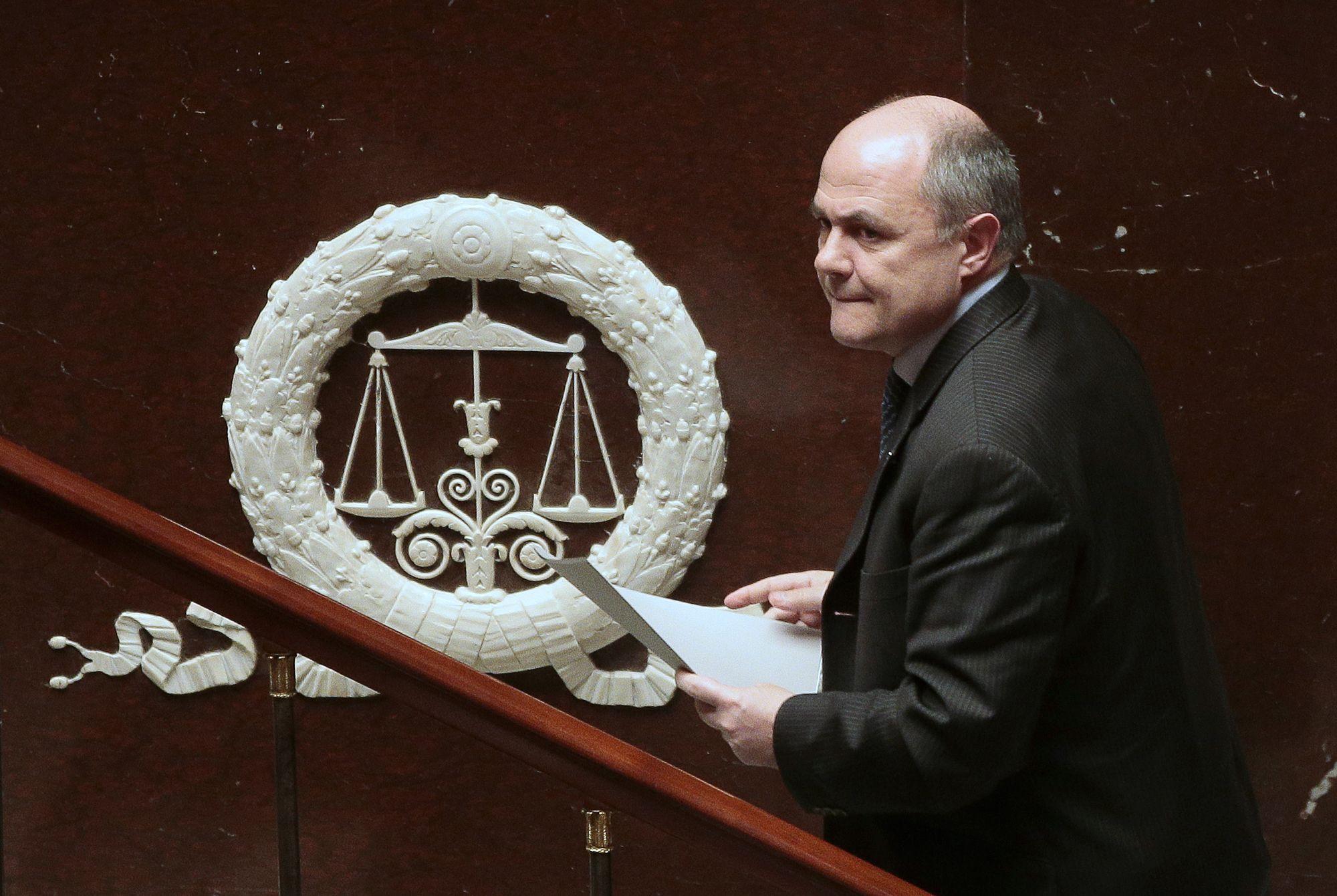 Le ministre fran ais de l 39 int rieur bruno le roux for Ministre de l exterieur