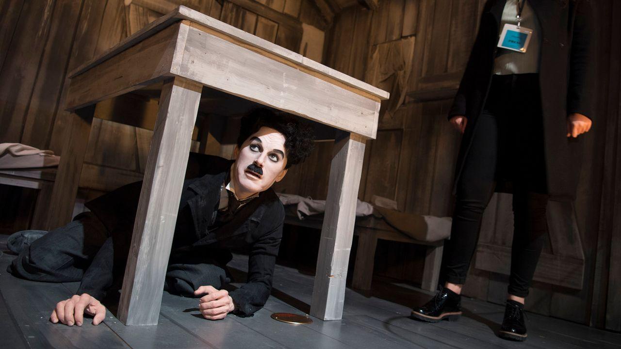 Le musée présente la vie de Charlie Chaplin (1889-1977) dans le Manoir de Ban. [Laurent Gillieron - KEYSTONE]
