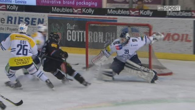 Playouts LNA, finale acte I, Fribourg - Ambri: 2-0 4e T.Vauclair [RTS]