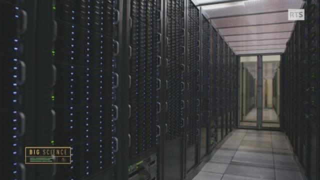 Visite du centre de calcul du CERN [RTS]