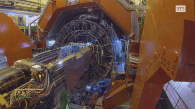 Visite d'ALICE, le détecteur de quarks et de gluons du CERN [RTS]