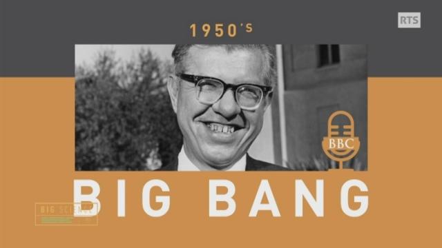Qui a imaginé la théorie du Big Bang? [RTS]