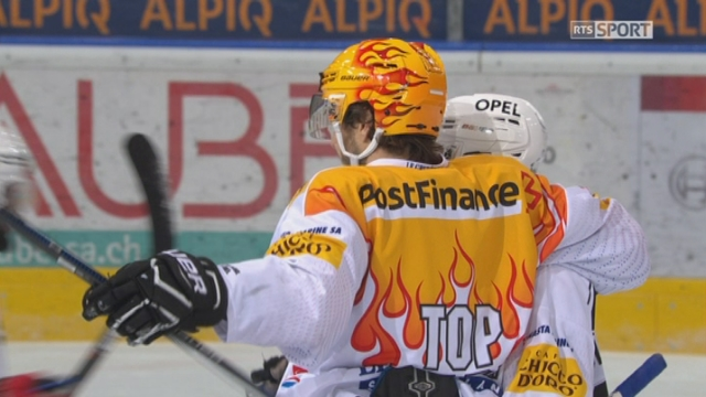 Playout LNA, finale acte II: Ambri - Fribourg 0-2, 12e J. Sprunger [RTS]