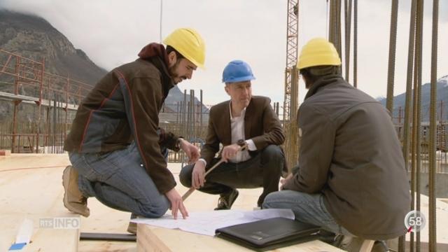 Construction: le bois bénéficie de belles avancées technologiques [RTS]