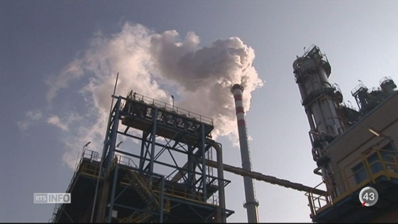 Pollution: le système d'échange d'émission est inefficace [RTS]