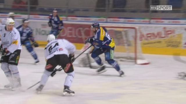 Playout LNA, finale acte II: Ambri - Fribourg 1-3, 36e B. Meukom [RTS]