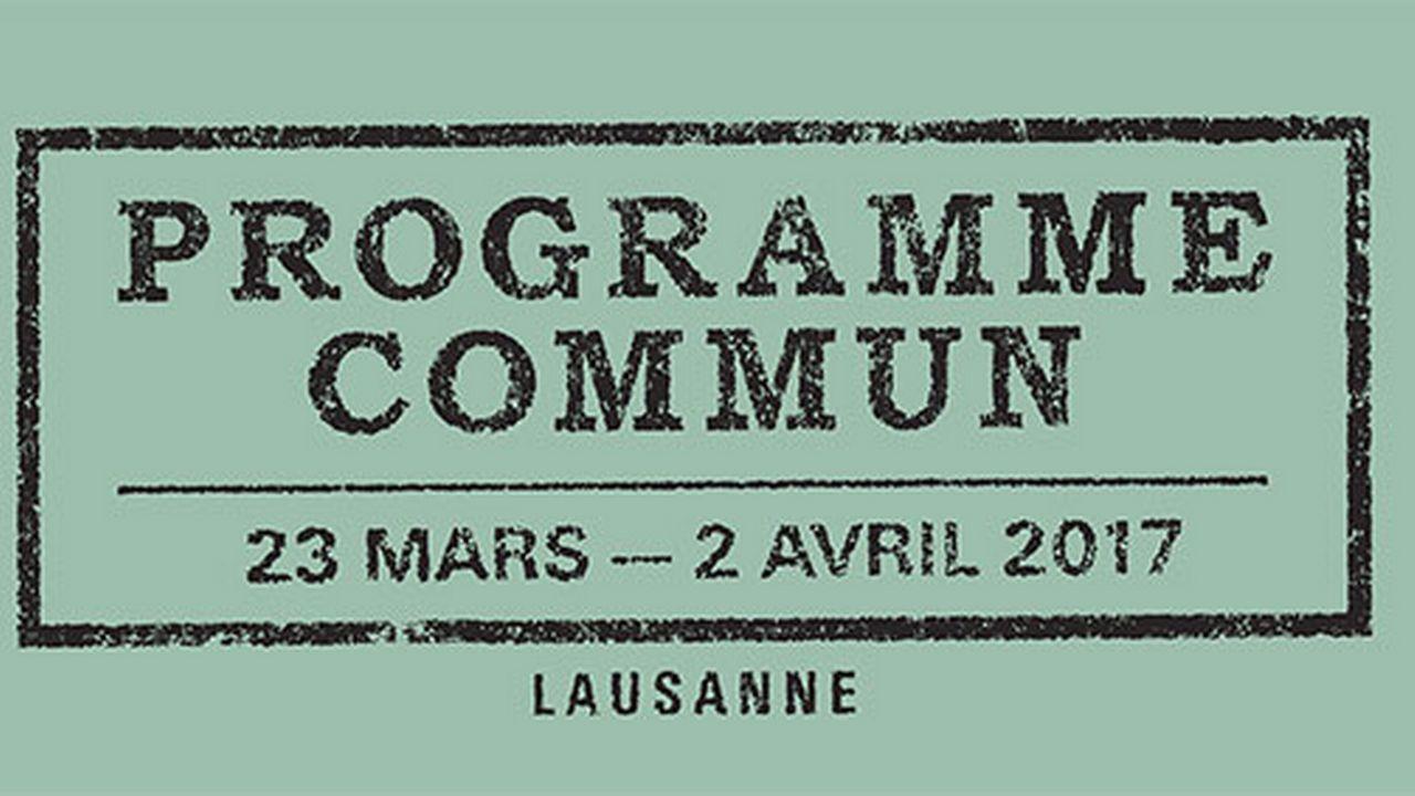 Visuel du Festival Programme Commun. [Vidy.ch]