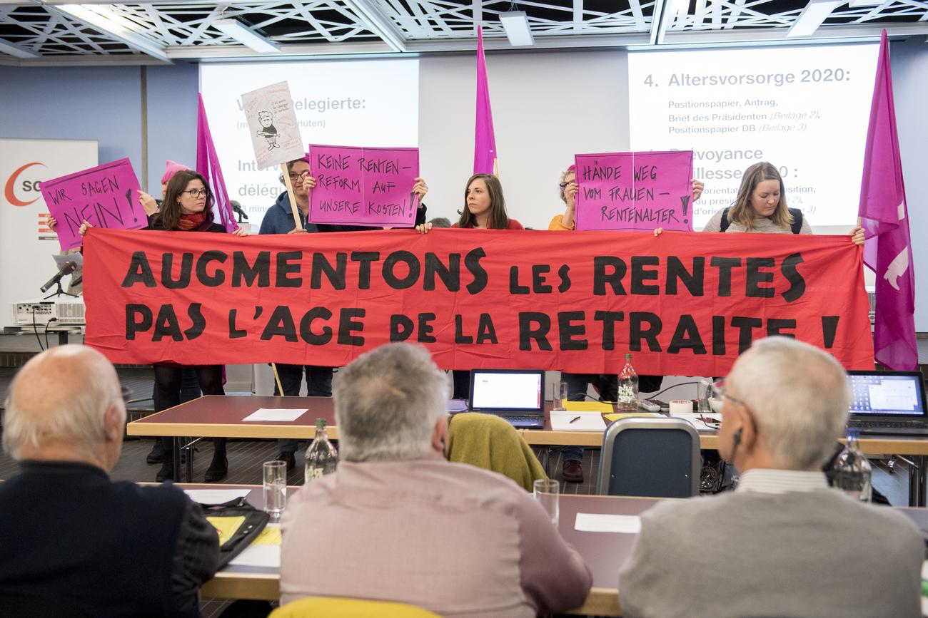 large soutien du centre patronal vaudois la r forme des retraites suisse. Black Bedroom Furniture Sets. Home Design Ideas