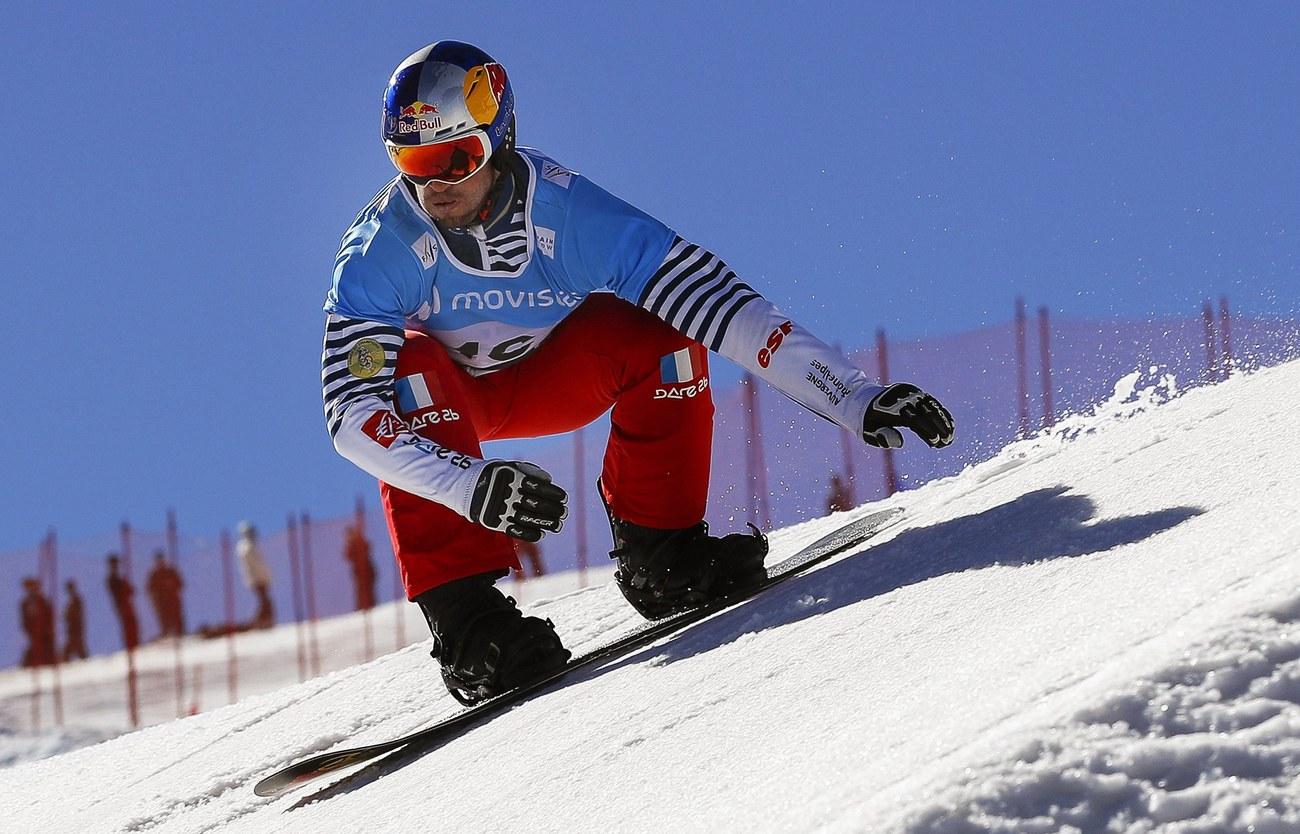 Snowboardcross (Veysonnaz) : Vaultier décroche un cinquième globe