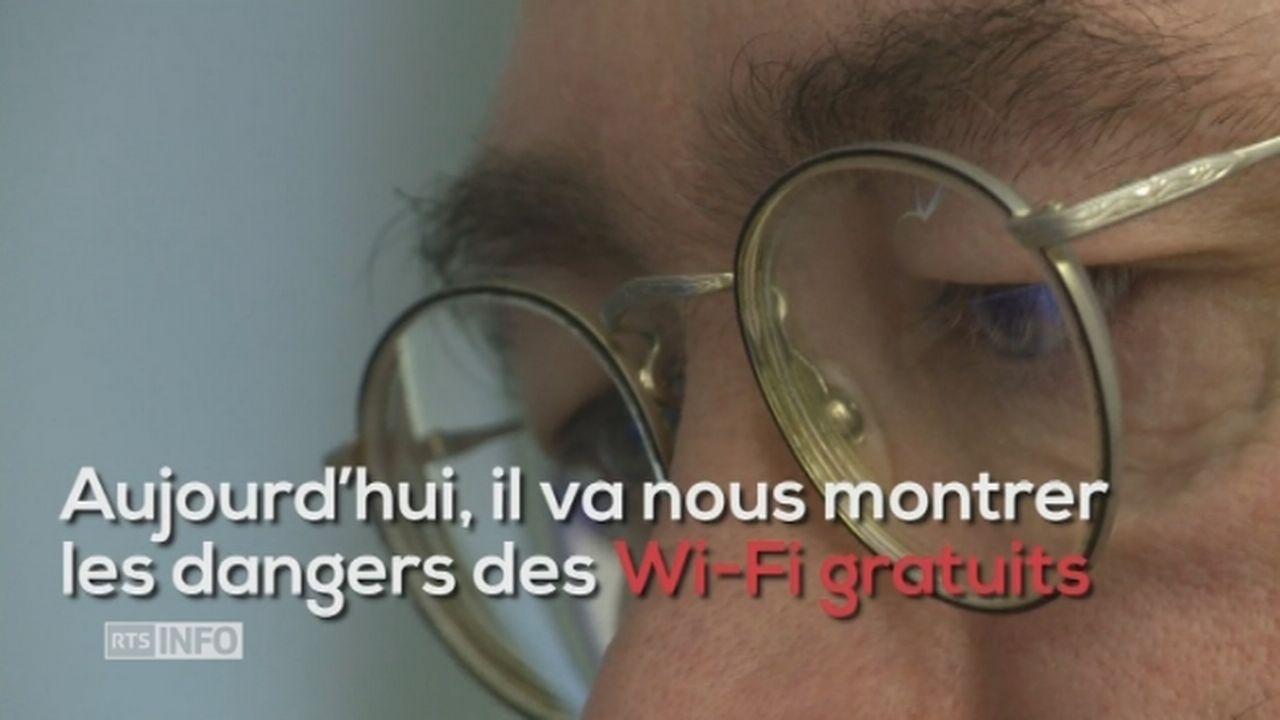 Les dangers des Wi-Fi gratuits en vidéo [RTS]