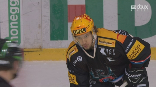 Playout LNA, finale acte III: Fribourg-Ambri 1-1, 22e J. Sprunger [RTS]