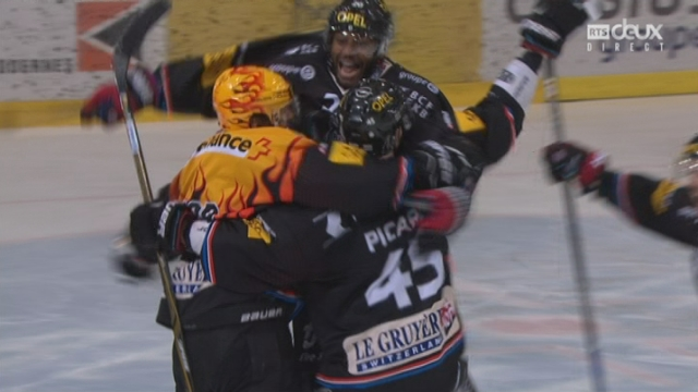 Playout LNA, finale acte III: Fribourg - Ambri 2-1, 64e J. Sprunger [RTS]