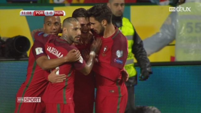 Football - Qualifications Mondial 2018: le Portugal gagne 3 à 0 face contre la Hongrie [RTS]