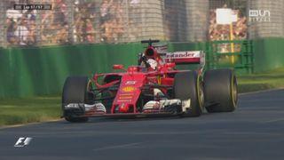 GP d'Australie: Victoire de Sebastian Vettel, devant Lewis Hamilton et Valtteri Bottas [RTS]