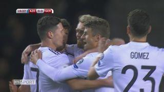 Qualification, Azerbaïdjan - Allemagne 1-4: tous les buts de la rencontre [RTS]