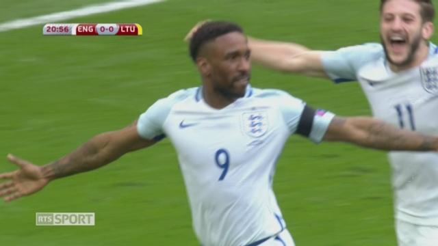 Qualification, Angleterre - Lituanie 2-0: le résumé du match [RTS]