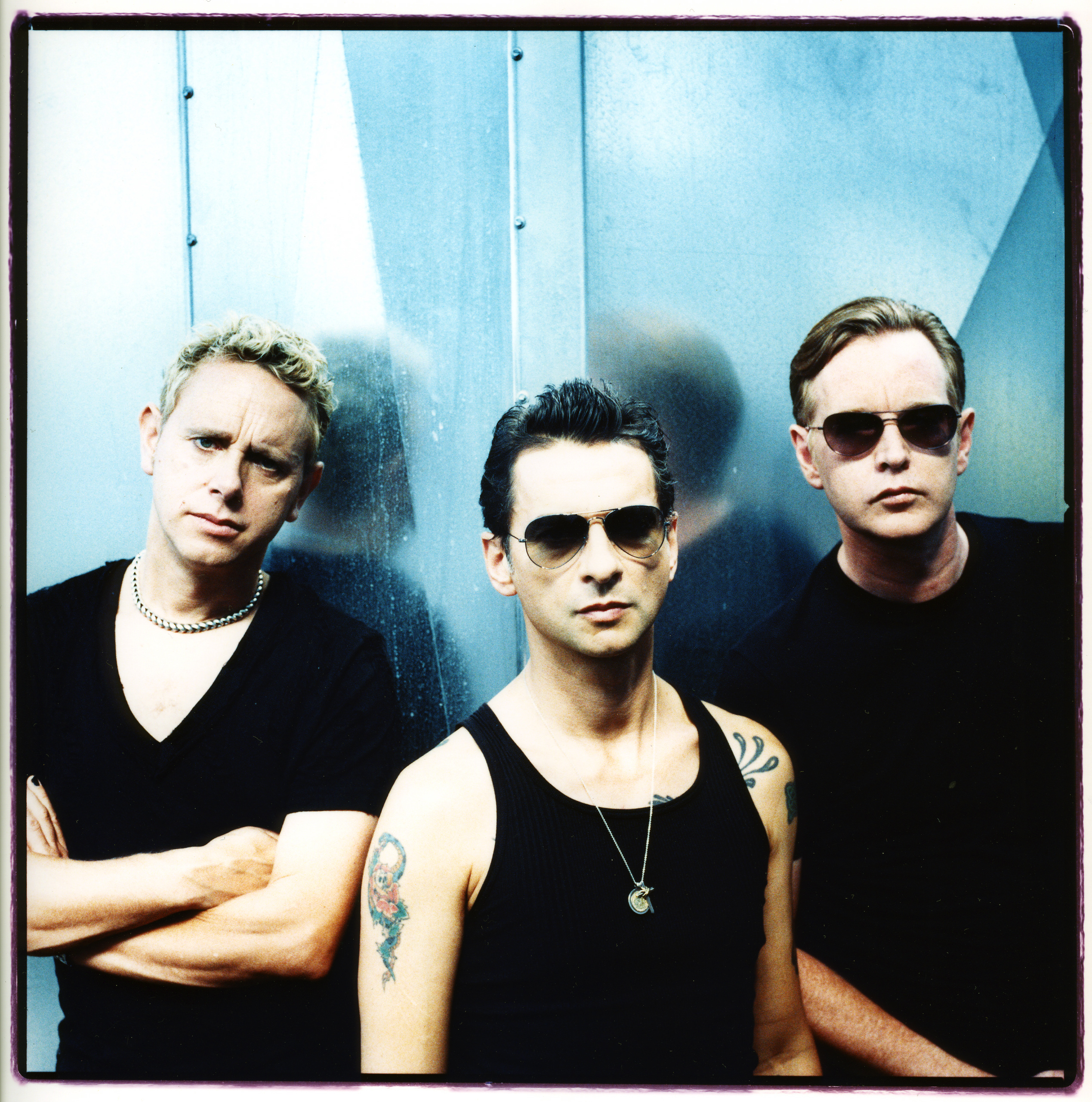 Portrait de Depeche Mode à Cologne, en septembre 2005.