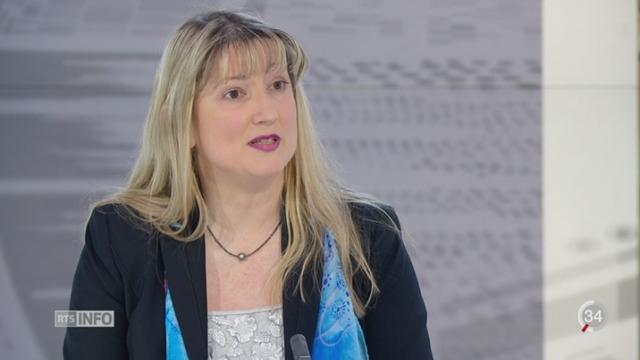Baisse de la criminalité en Suisse: le point avec Monica Bonfanti, cheffe de la police genevoise [RTS]