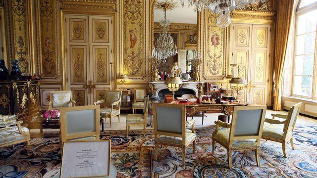 Bureau du président de la République française au palais de l'Elysée. [François Guillot - AFP]